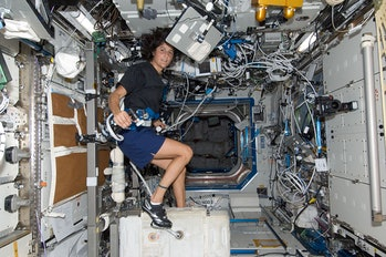 NASA, ISS exercise