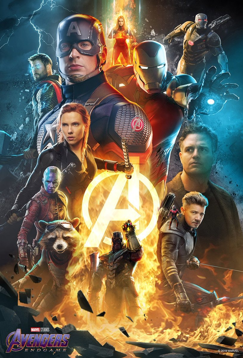 Endgame alternative poster