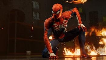 'Spider-Man' PS4 Fire
