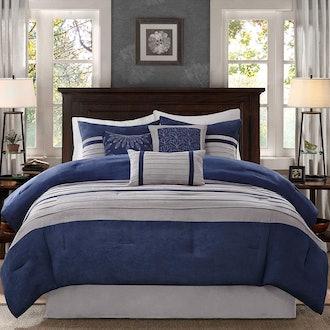 Madison Park - Palmer 7 Piece Comforter Set