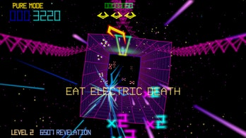 'Tempest 4000' is neon-drenched space travel.