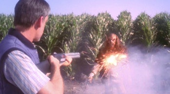 Yeah, this Klingon messed with the wrong farmer.