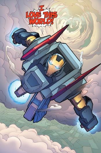 Iron Man Ironheart Riri Williams