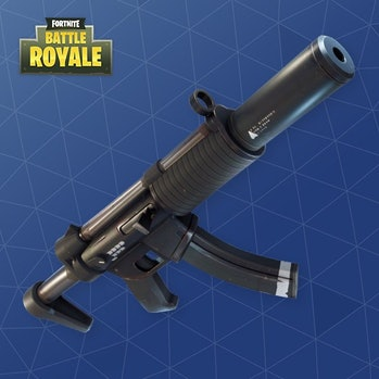 fortnite suppressed smg