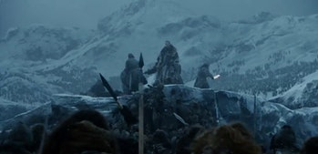 Jon Snow and Beric Dondarrion in 'Game of Thrones' Season 7