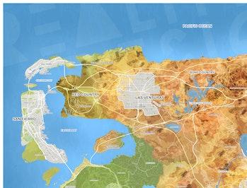 gta 6 map fan concept