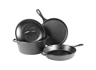 Lodge Cast Iron 4-Piece Cookware Set