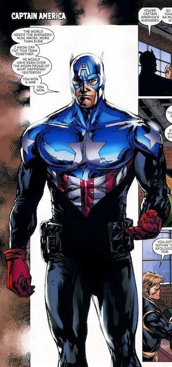Captain America Bucky Barnes MCU