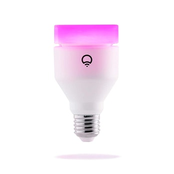 LIFX (A19) Wi-Fi Smart LED Light Bulb, Adjustable, Multicolor, Dimmable, No Hub Required, Works with Alexa, Apple HomeKit and Google Assistant