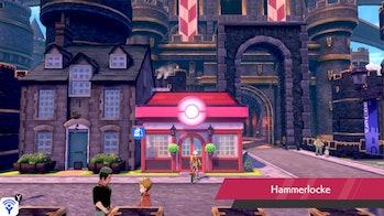 Pokémon Sword and Shield Hammerlocke Pokemon Center