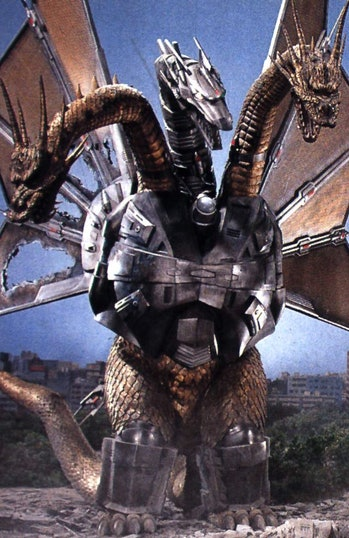 Mecha King Ghidorah Godzilla Post Credits