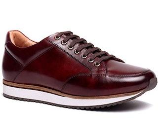 Anthony Veer Men's Barack Court Tennis Fashion Leather Sneaker