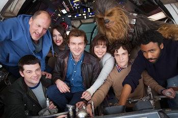 """Han Solo - Smuggler. Scoundrel. Hero. A new Star Wars Story begins."""