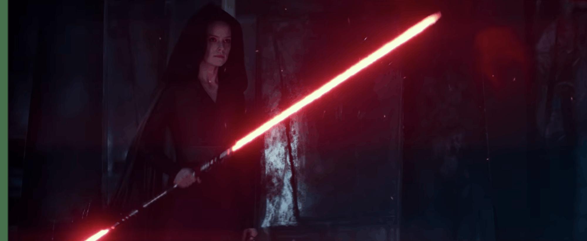 Star Wars 9 Dark Rey Red Lightsaber
