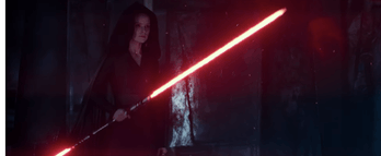 Star Wars 9 Dark Rey Red Lightsaber
