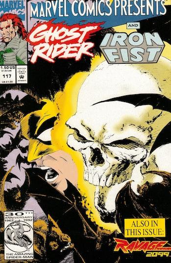 Iron Fist Ghost Rider