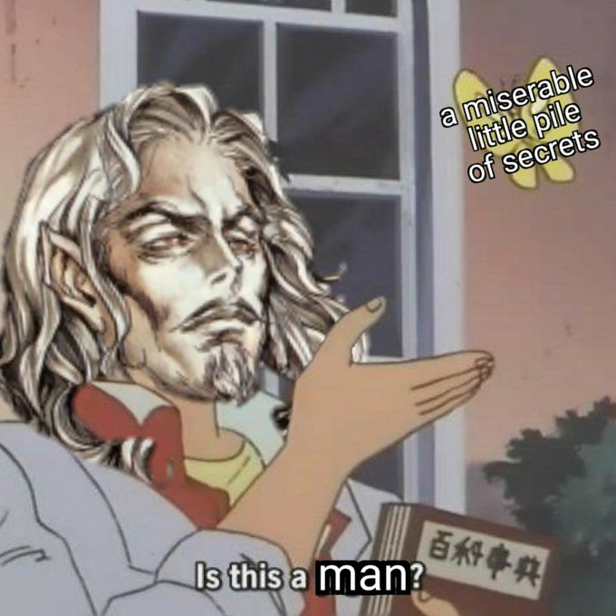 Castlevania pigeon meme