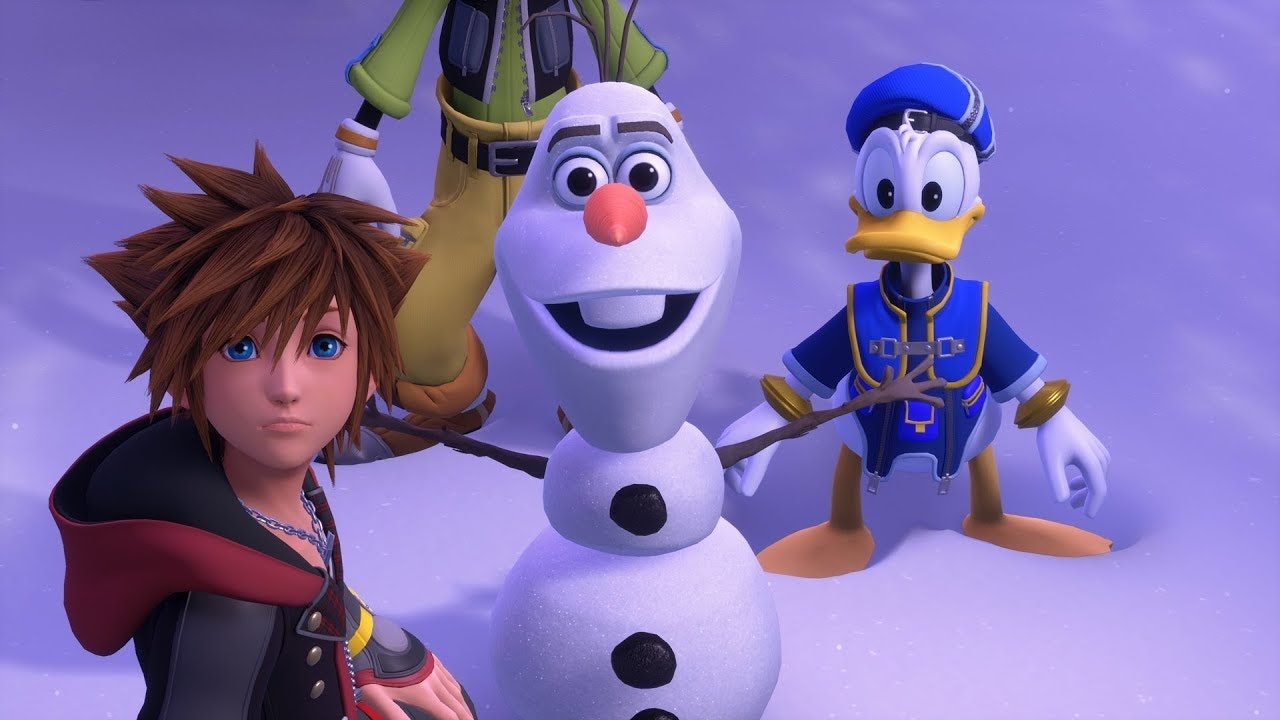 Kingdom Hearts III Frozen