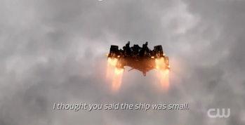 mystery ship in 'The 100' Season 4