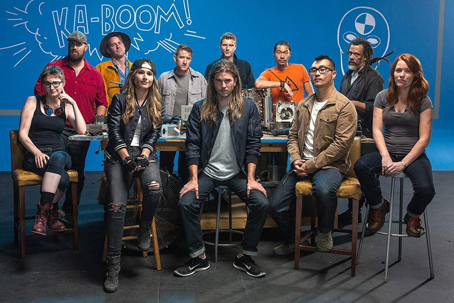 Hill hosted the 2017 series 'MythBusters: The Search', a competition series that selected the next 'MythBusters' hosts.