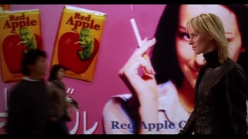Red Apple Cigarettes in 'Kill Bill'