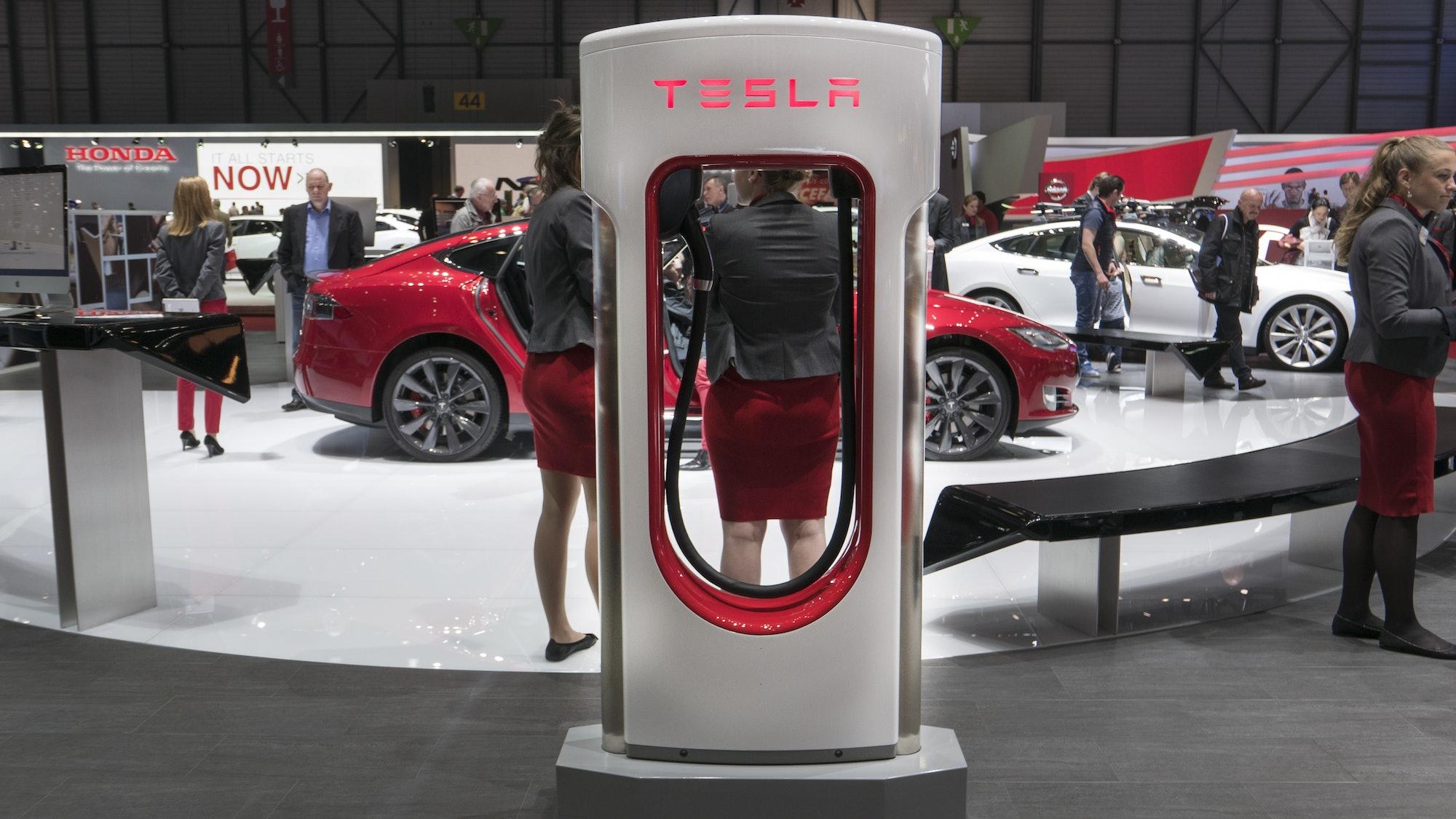 Tesla Superchargers