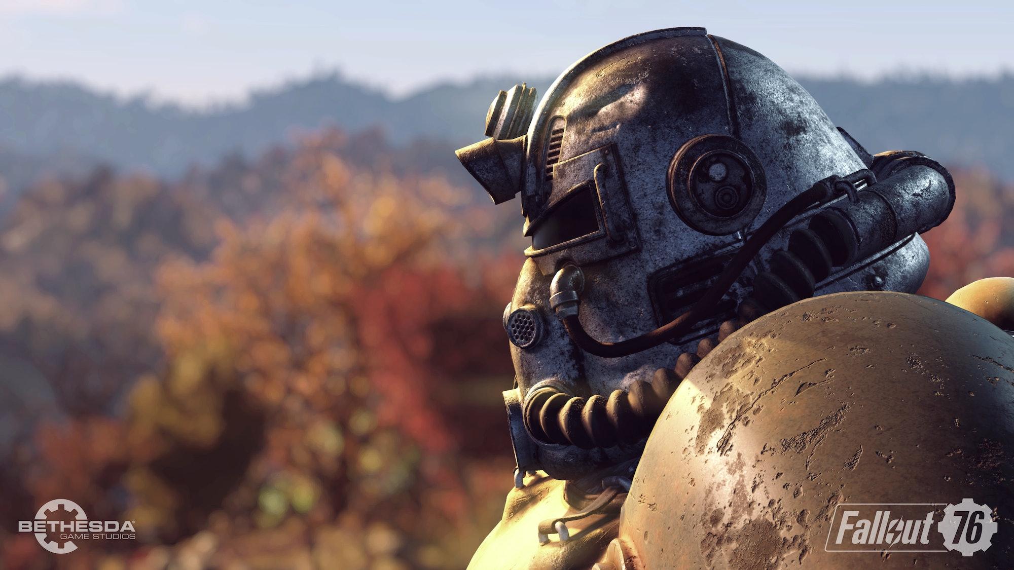 Fallout 76 Power Armor helmet
