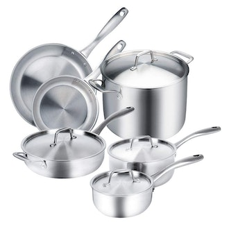 Duxtop Whole-Clad Stainless Steel Induction Ready Premium Cookware