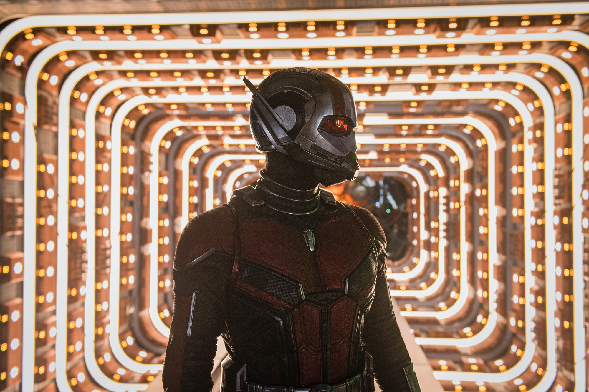 Paul Rudd as Ant-Man in 'Ant-Man and the Wasp'.