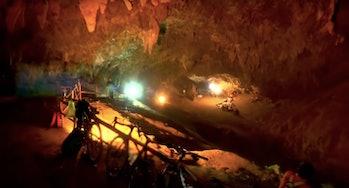 Cave in Thailand