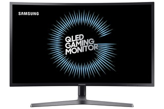 Samsung 27-Inch HDR QLED Curved Gaming Monitor