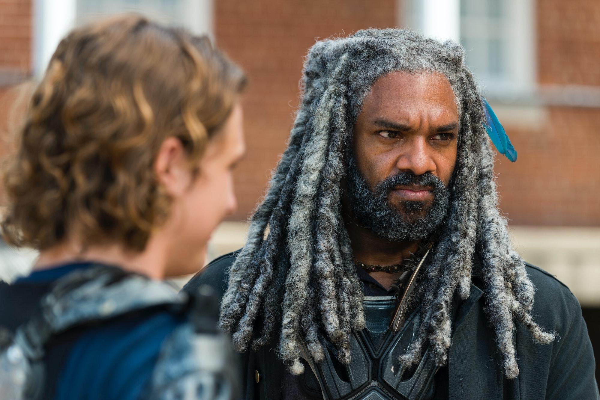 Ezekiel Walking Dead