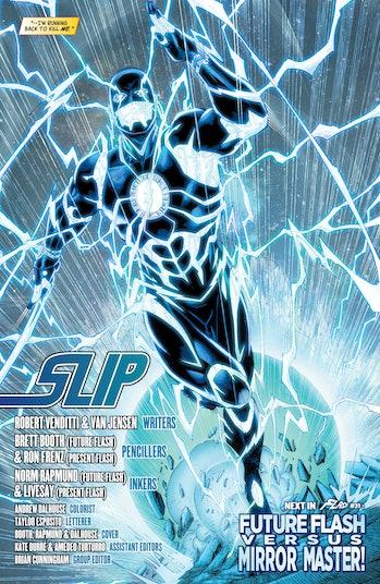 The Flash Blue Flash Savitar