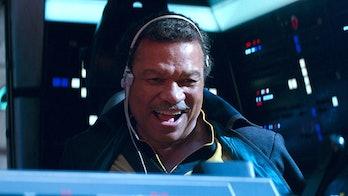 star wars rise of skywalker leaks lando lobot