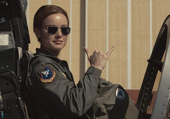 Brie Larson in 'Captain Marvel'