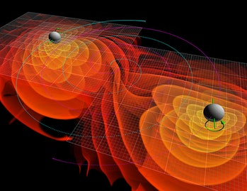 Black hole, gravitational wave