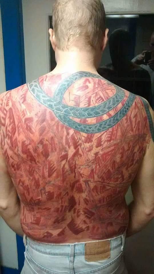 john b mclemore s town brian reed tattoo whip lash invisible pain psychology