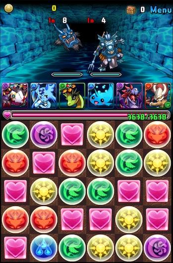 'Puzzle & Dragons'