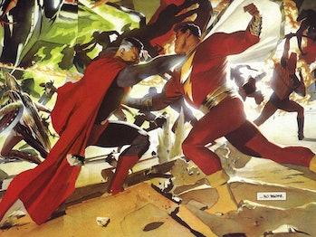 Shazam Superman Kingdom Come