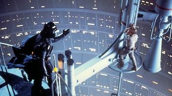 Spoiler alert: Darth Vader is the father of Luke Skywalker.
