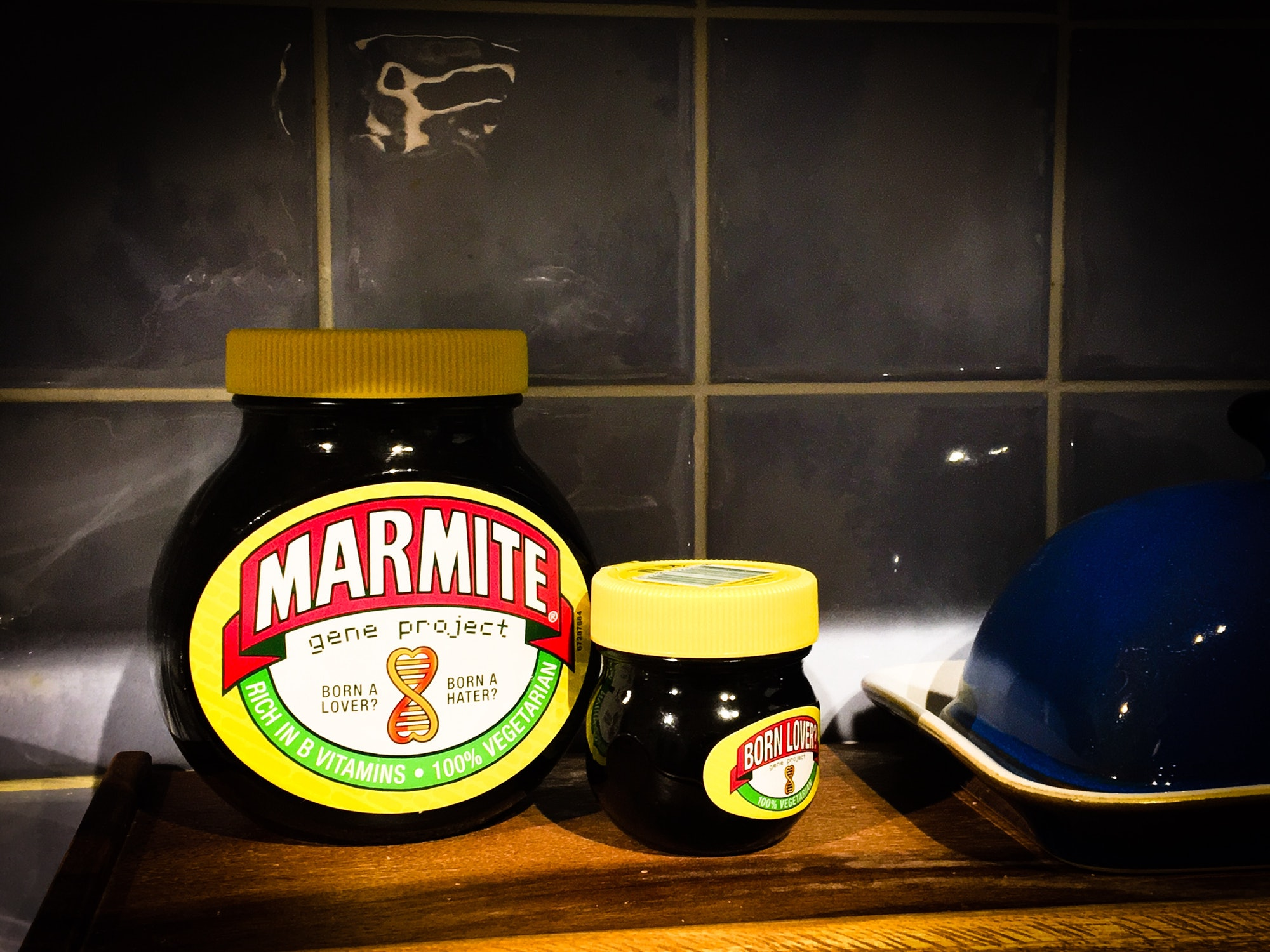 Father and son marmite...