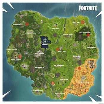 'Fortnite' Shooting Ranges