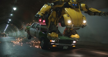 'Bumblebee' Cop Car Chase