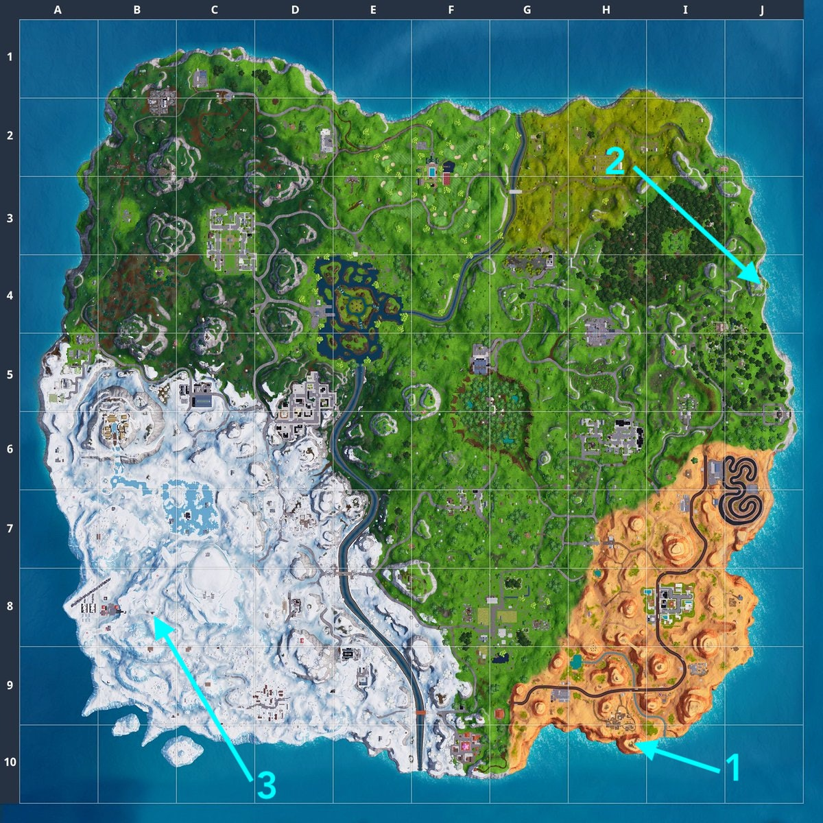 'Fortnite' Crown of RVs, Metal Turtle, and