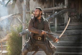Charles Vane on 'Black Sails'