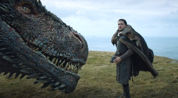 Kit Harington as Jon Snow in'Game of Thrones' Season 7