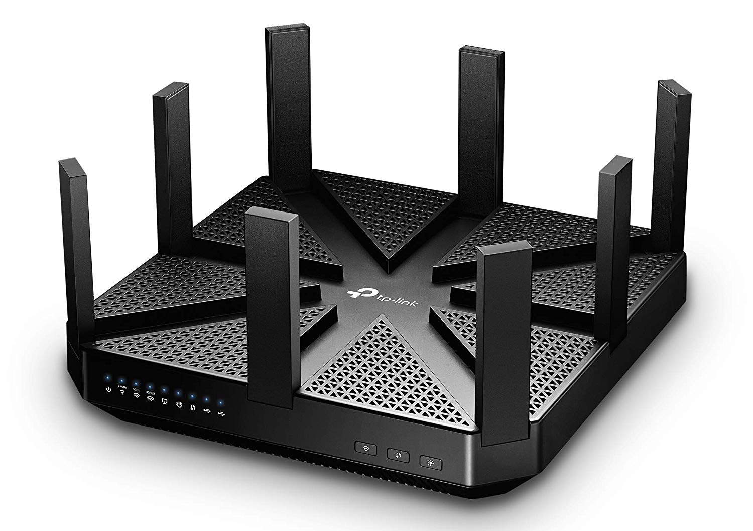 TP-Link AC5400 Wireless Wi-Fi MU-MIMO Tri-Band Router - Powerful Wi-Fi for Gaming and 4K Streaming, Comprehensive Antivirus
