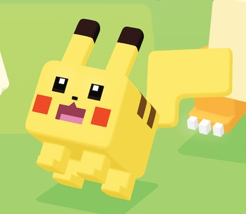 Pikachu can be such a square sometimes, especially in 'Pokémon Quest'.