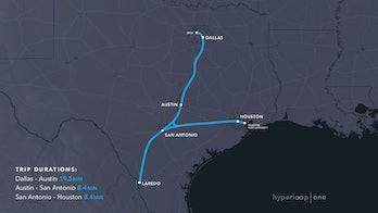 The Texas triangle.
