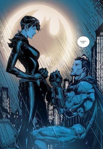 Batman Tom King Catwoman Marry